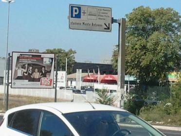 Sa 10/09/2011, 11:44:47 :cartello indicatore: P + (TRENO ELETTRICO)
