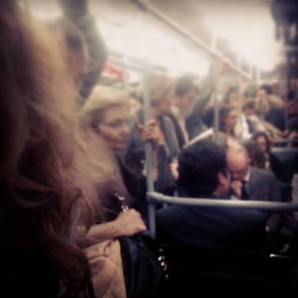 Martedì 22/10/2013, treno urbano delle 19:58 da Piazzale Flaminio