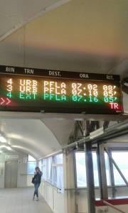Foto dal gruppo facebook Comitato Pendolari Ferrovia Roma Nord
