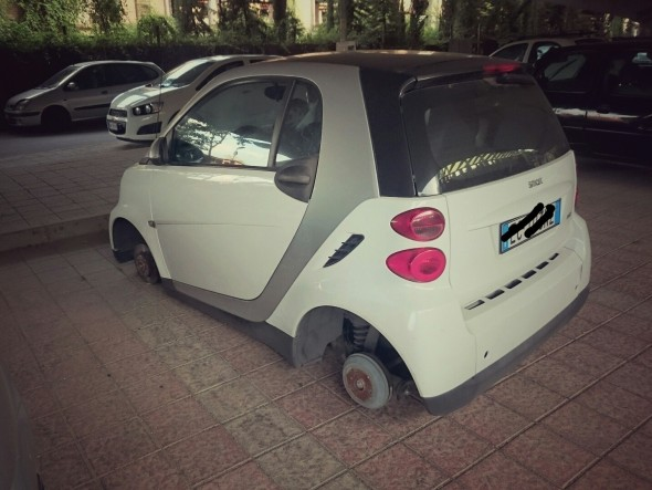 Smart senza ruote