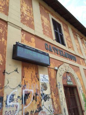 Stazione di Castelnuovo - vecchio e nuovo